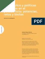 Adriana Roque Romero - Arte Público y Políticas Culturales en El Posconflicto