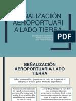 señalizacion aeroportuaria lado tierra