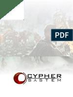Cypher system custom GM screen