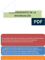 10. Aseguramiento de La Información (1)