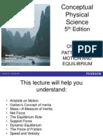 01 Patterns of Motion & Equilibrium