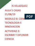 Carlos_Velazquez_Escribir y Difundir Ciencia