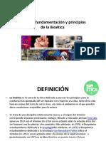 Fundamentos y principios de la bioetica