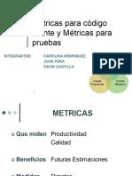 Metricas Codigo Fuente y Pruebas