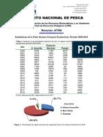 Estadísticas Pesqueras Flota Atunera Cerquera Ecuatoriana Período 2000-2018