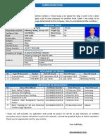 Cv_muhammad Fazli_deck Cadet Training