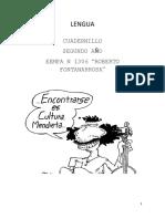 Cuadernillo lengua Eempa 1306 2do Año 2019