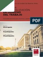 Jornada de Actualizacion en Derecho Del Trabajo