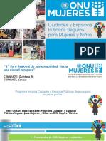 Programa Global Ciudades Seguras