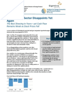 U.S. Fracking Sector Disappoints Yet Again - IEEFA  August 2019