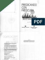 Predicando Con Frescura-Libro