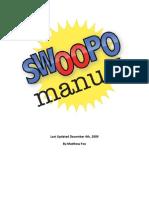 The Swoopo Manual v007o