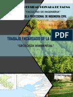 trabajo de geologia aplicada