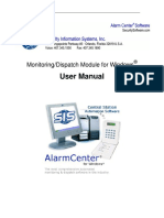Alarm Center Users Manual