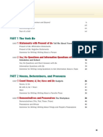 Grammar and Beyond 1 - Table of Contents