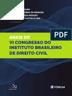 Anais do Congresso de direito civil