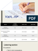 about the TOEFL test