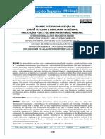 Processo de Inter Do Ensino Superior e Mobilidade Acadêmica - Implicações p Gestão Univers