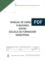 Manual de Cargos Esfom