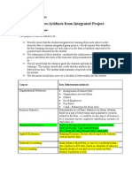 Integrated Project Trim I