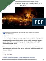 Fumaça de incêndios na Amazônia chegam a território peruano - 21_08_2019 - UOL Notícias.pdf