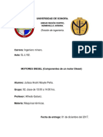 Maquinas Térmicas_Componentes de Un Motor Diesel