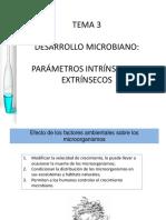 DESARROLLO MICROBIANO