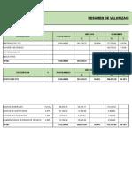 Valorizacion Resumen - Final