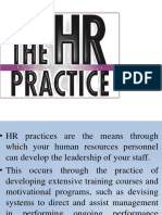 HR Practices by Ganapathi
