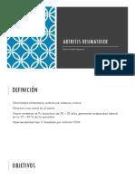 Artritis Reumatoide Patologia