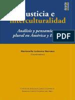 justicia e interculturalidad