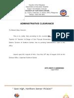 Template (Certification)