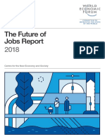 World Economy Forum Future of Jobs 2018