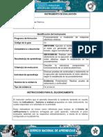 IE Evidencia Presentacion Realizar Prueba de Aislamiento y Continuidad