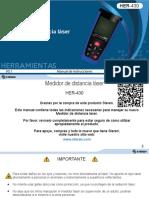 Manual Para Medidor de Distancias Con Laser
