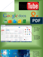 Google Docs and Youtube BDSC Sian