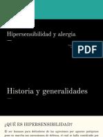 6. Alergia e Hipersensibilidad