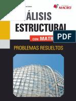 Análisis Estructural Con Matrices - Alejandro Segundo Vera Lazaro