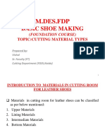 Cutting material types