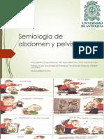 SEMIOLOGÍA DE ABDOMEN