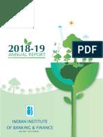 IIBF Annual Report 2018-19