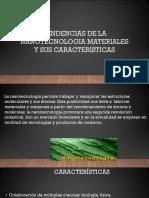 Tendencias de Nanotecnología Materiales y Sus Características