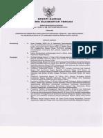 SK Bupati - Pembebasan Dari Jabatan Fungsional Perawat - Daut