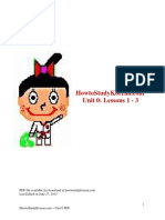 HowtoStudyKorean Unit 0 PDF