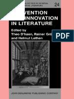 Innovation in literature