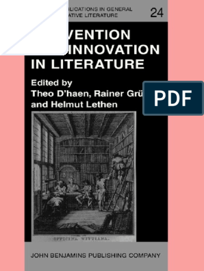 Innovation In Literature Sociology Consciousness