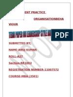 MPOB Term Paper