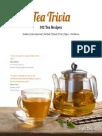 Tea Trivia - 101 Tea Recipies