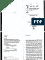 FOUCAULT, M. Ditos e Escritos - Vol. 01. Problematização do Sujeito - Psicologia, Psiquiatria e Psicanálise.pdf