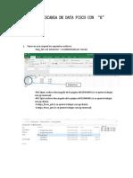 Manual Descarga de Data Pisco Con r